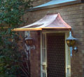 Copper Entry Canopy