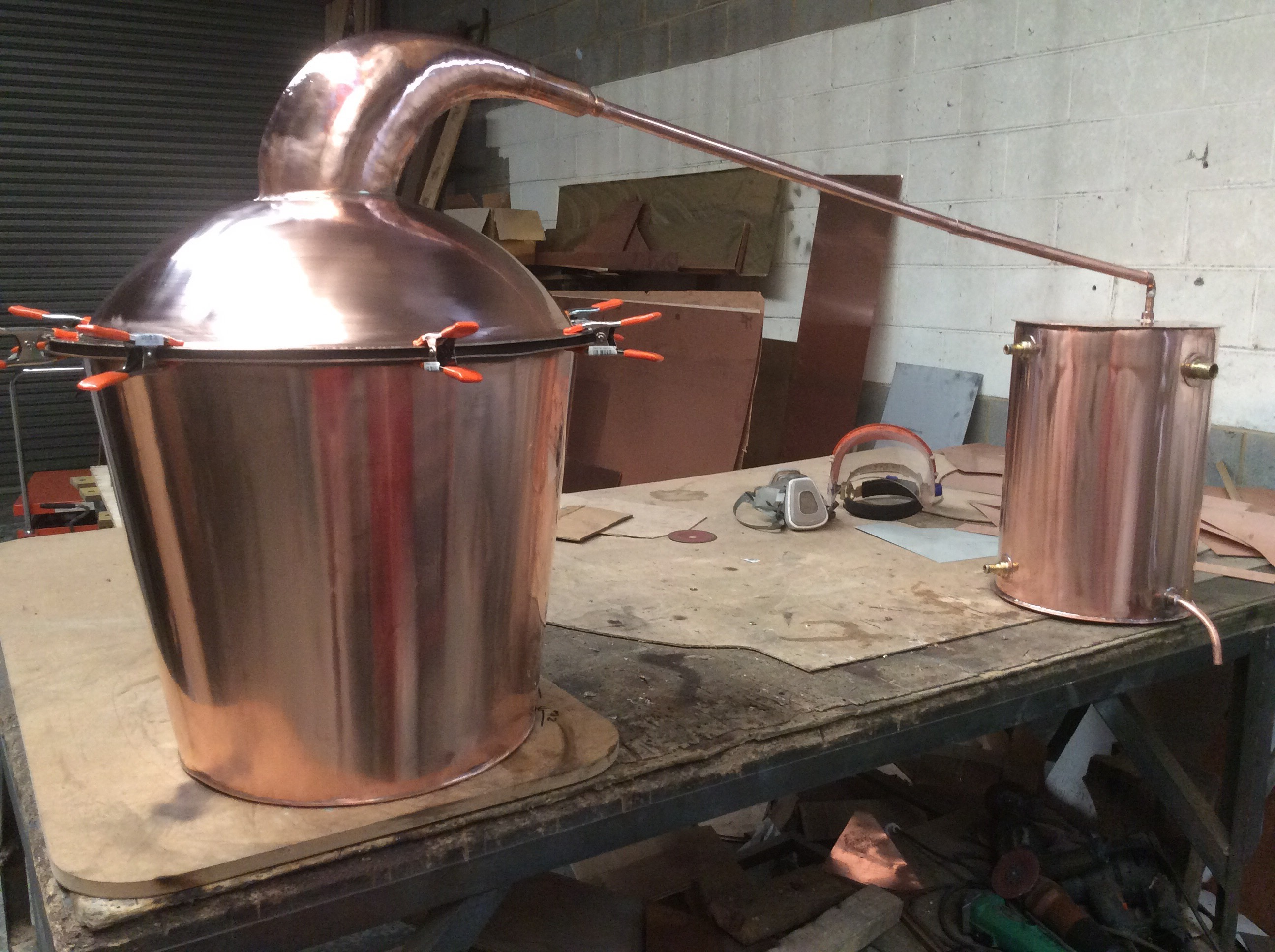 Copper Fire Fender